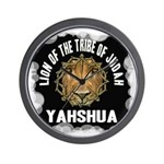 Yahshua Lion Wall Clock