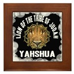Yahshua Lion Framed Tile