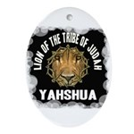 Yahshua Lion Oval Ornament