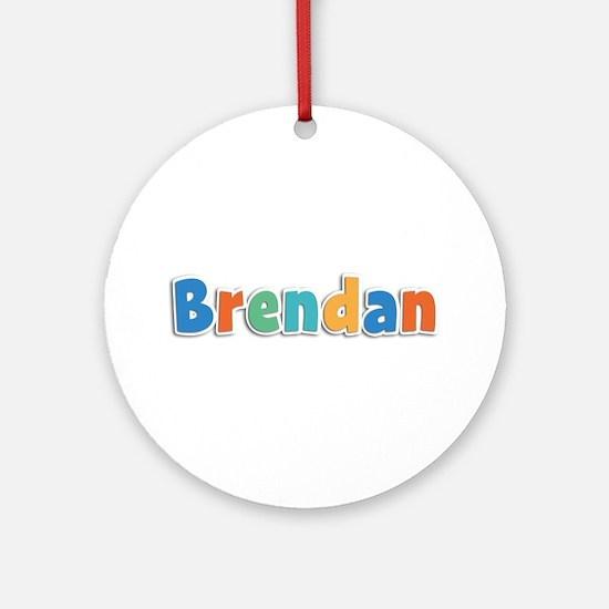 Brendan Spring11B Round Ornament
