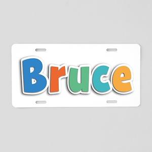 Bruce Spring11B Aluminum License Plate