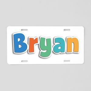 Bryan Spring11B Aluminum License Plate