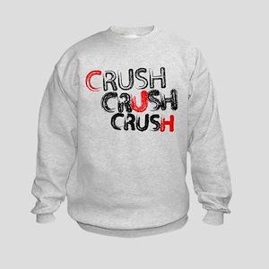Crush Crush Crush Kids Sweatshirt