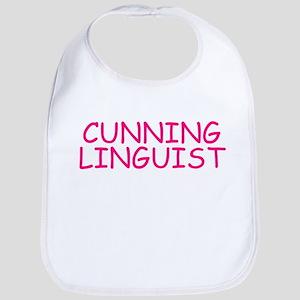 Cunning Linguist Bib