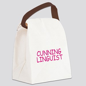 Cunning Linguist Canvas Lunch Bag