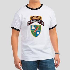 3d Batt Scroll over Ranger Crest T-Shirt