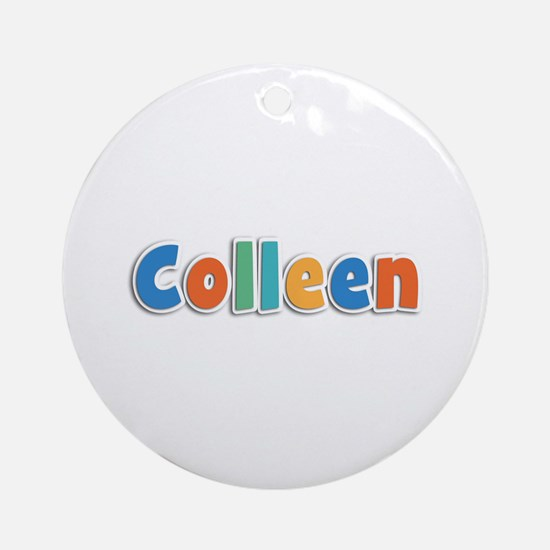 Colleen Spring11B Round Ornament