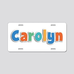 Carolyn Spring11B Aluminum License Plate