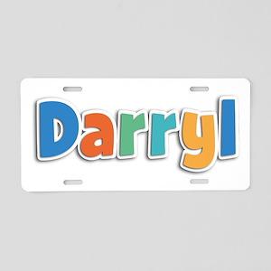 Darryl Spring11B Aluminum License Plate