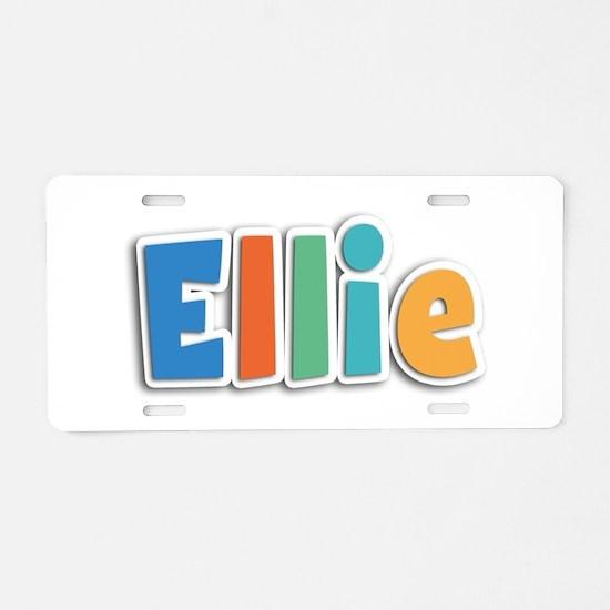Ellie Spring11B Aluminum License Plate