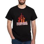 Violence Solves Everything Dark T-Shirt