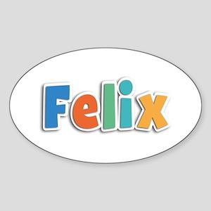 Felix Spring11B Oval Sticker
