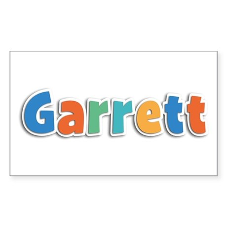 Garrett Spring11B Rectangle Sticker