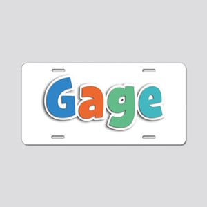 Gage Spring11B Aluminum License Plate