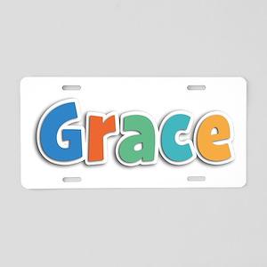 Grace Spring11B Aluminum License Plate
