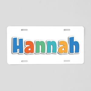 Hannah Spring11B Aluminum License Plate
