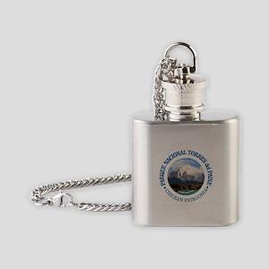 Torres del Paine NP Flask Necklace