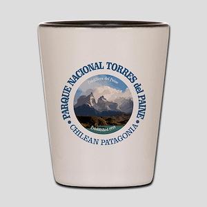 Torres del Paine NP Shot Glass