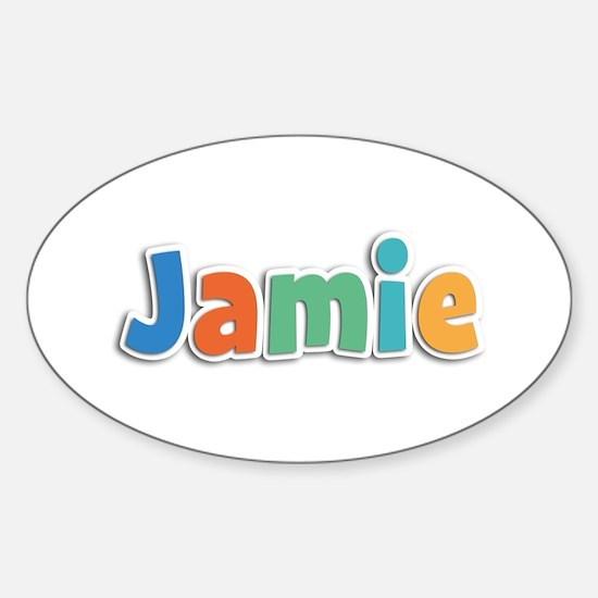 Jamie Spring11B Oval Decal