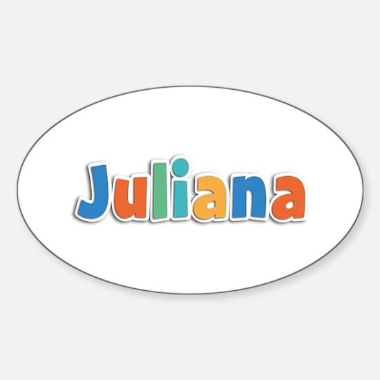 Juliana Spring11B Oval Decal