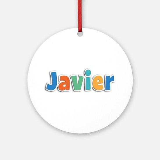 Javier Spring11B Round Ornament
