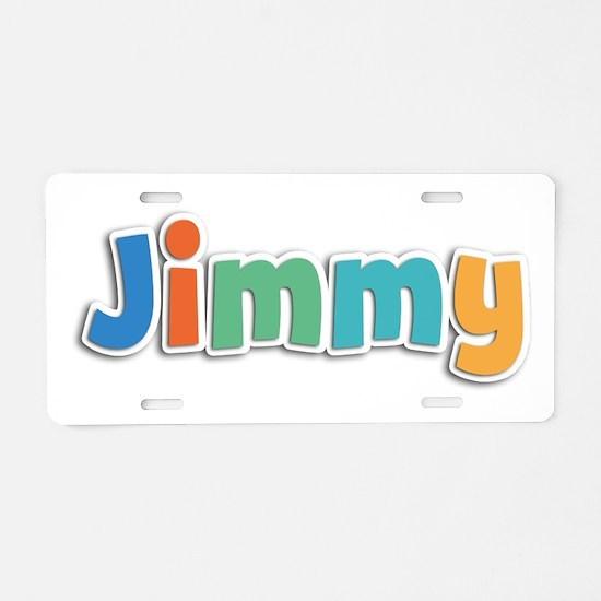 Jimmy Spring11B Aluminum License Plate