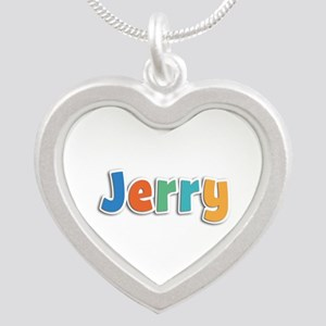 Jerry Spring11B Silver Heart Necklace