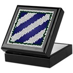 3ID Tile Pattern Logo Keepsake Box