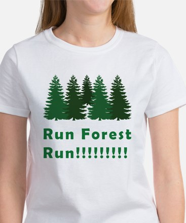 Run Forest Run Women's T-Shirt