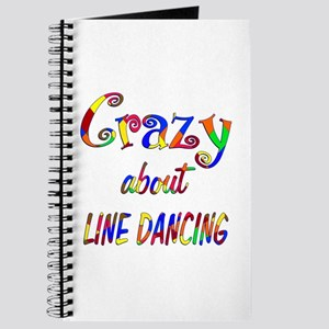 Crazy About Line Dancing Journal