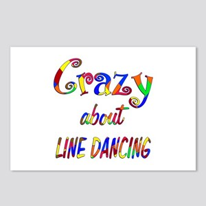 Crazy About Line Dancing Postcards (Package of 8)