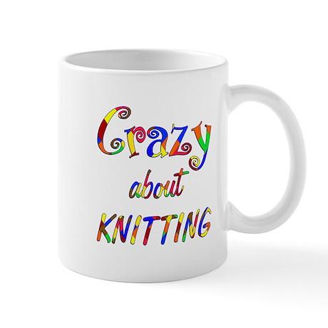 Crazy About Knitting Mug