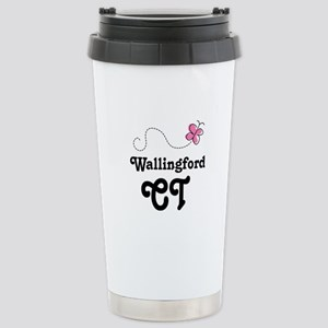 Wallingford Connecticut Stainless Steel Travel Mug