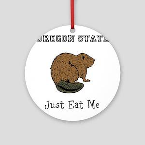 OSU Beavers Ornament (Round)