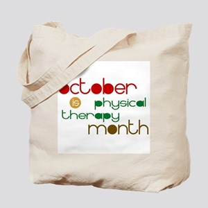 Physical Therapy Month Tote Bag