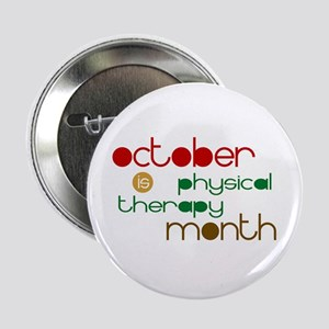 Physical Therapy Month Button