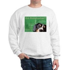 Got Entlebucher? Woof Cloud Green Sweatshirt