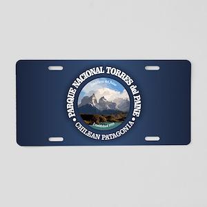 Torres del Paine NP Aluminum License Plate