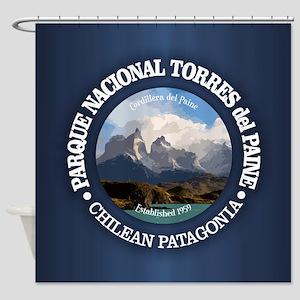 Torres del Paine NP Shower Curtain
