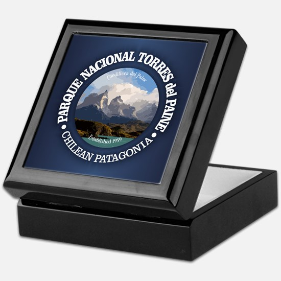 Torres del Paine NP Keepsake Box