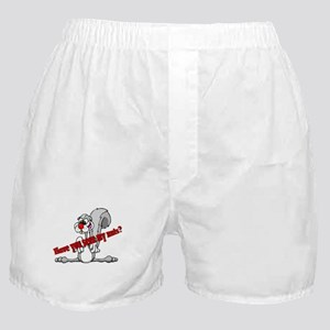 Squirrel looking for nuts Boxer Shorts