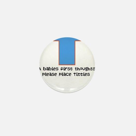 Baby food Mini Button