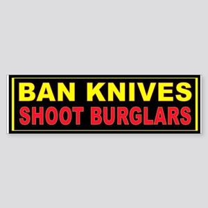SHOOT BURGLARS Sticker (Bumper)