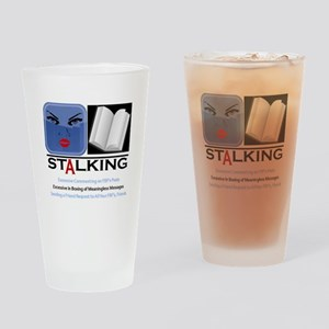 Facebook Stalking Drinking Glass