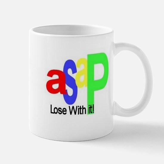 ASAP Lose With It! Logo Mug
