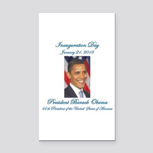 Inauguration Day Jan/21/2013 Rectangle Car Magnet