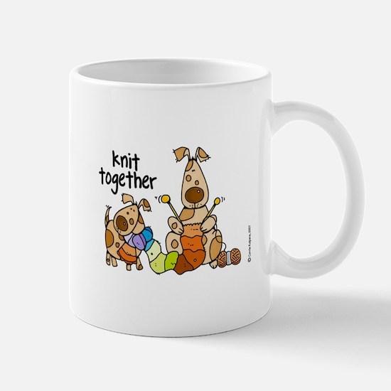 knit together II magnet Mugs