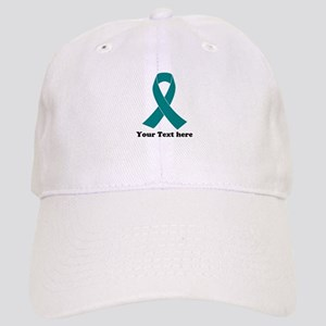 Teal Ribbon Awareness Cap