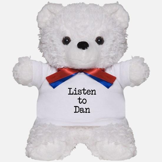 Listen to Dan Teddy Bear