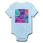 Abstract Colorful Roses Infant Bodysuit